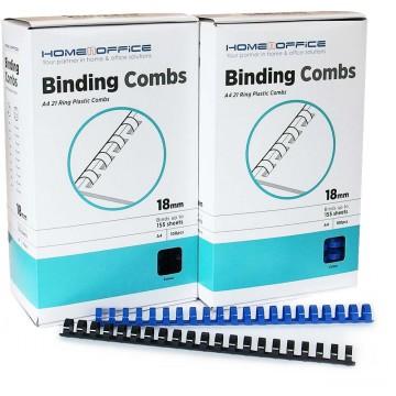 HnO Plastic Binding Ring A4 100'S 18mm