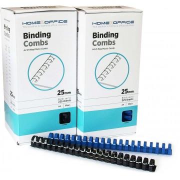 HnO Plastic Binding Ring A4 50'S 25mm