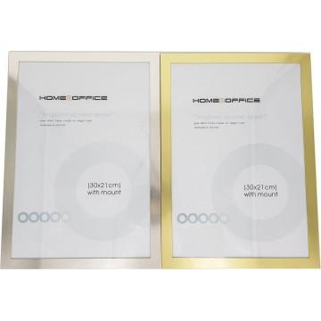 "HnO Certificate Frame A4 (8"" x 12"") Metallic"