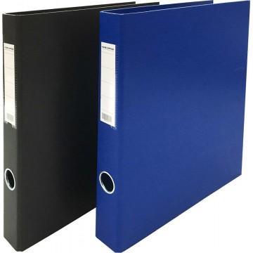 """HnO PVC 2D-Ring File 1.5"""" A4"""