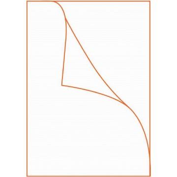HnO PVC L-Shape Folder 25'S FS/F4 Clear