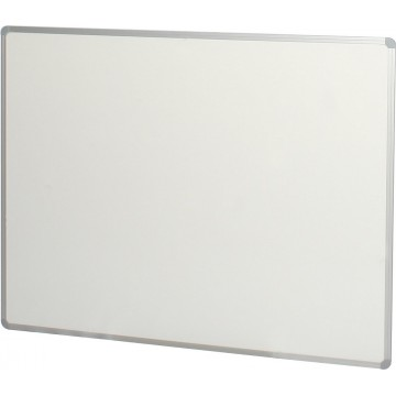 Magnetic Whiteboard w/Marker Tray (90 x 120cm) Aluminium Frame - With Installation