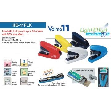 Max Flat Clinch Stapler HD-11FLK (Vaimo11) 35 Sheets