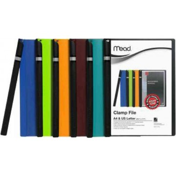 Mead Clamp Clip File (50 Sheets) A4
