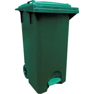 Mobile Waste Bin w/Pedal (56 x 50 x 84cm) 120L