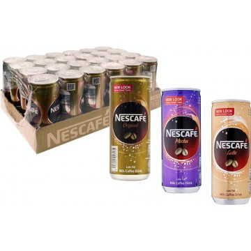 Nescafe Milk Coffee Can Drink 24'S 240ml
