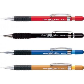 Pentel 120-A3DX Mechanical Pencil (0.3mm, 0.5mm, 0.7mm, 0.9mm)