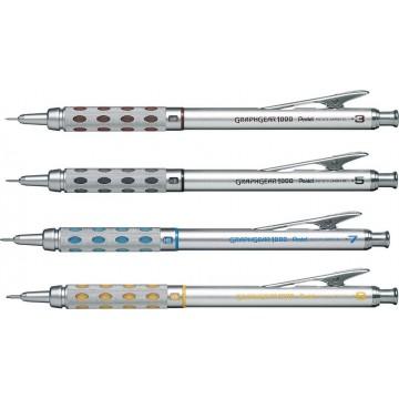 Pentel GraphGear-1000 Mechanical Pencil (0.3mm, 0.5mm, 0.7mm, 0.9mm)
