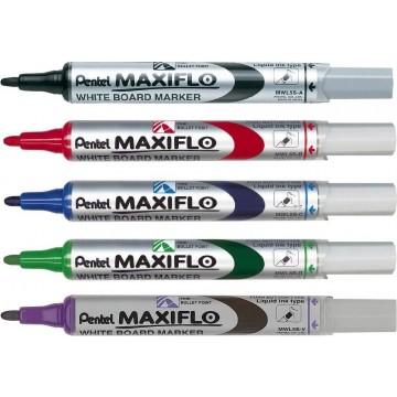 Pentel Maxiflo Whiteboard Marker Bullet Fine