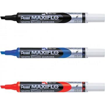 Pentel Maxiflo Whiteboard Marker Chisel Fine
