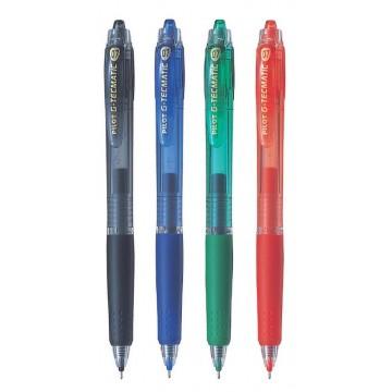 Pilot G-Tecmatic Gel Ink Pen 0.7mm Retractable