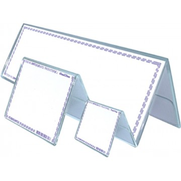 STZ Acrylic Double-Sided Card Stand (180 x 65mm)