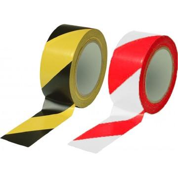 Safety Warning Adhesive Tape (48mm x 33m)