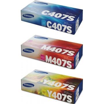 Samsung Toner Cartridge (CLT-407S) Colour