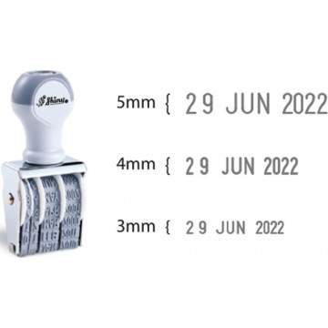 Shiny Date Stamp (3mm, 4mm, 5mm)