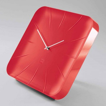 Sigel Design Wall Clock WU142 (35 x 35 x 4.5cm) Red