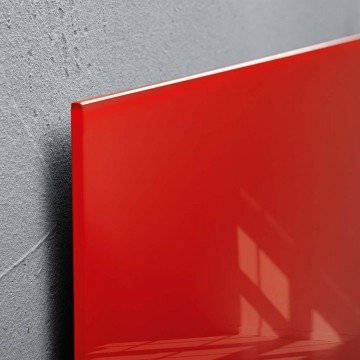 Sigel Magnetic Glass Board artverum (30 x 30 x 1.5cm) Red