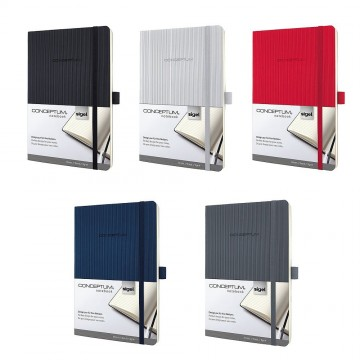 Sigel Conceptum Softcover Notebook A5 Lined Softwave
