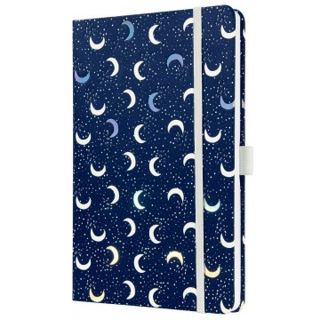 Sigel Jolie Hardcover Notebook A5 Lined Moon