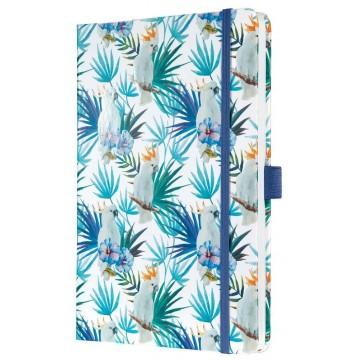 Sigel Jolie Hardcover Notebook A5 Lined Tropics