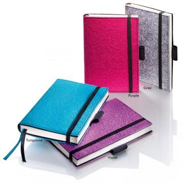 Sigel Conceptum Softcover Felt Notebook A6 Plain