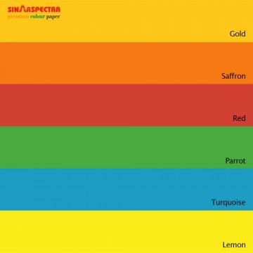 Sinar Spectra Colour Paper 80gsm A4 Deep
