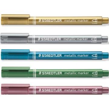 Staedtler Metallic Marker 1-2mm