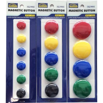 Magnetic Buttons (20mm, 30mm, 40mm)