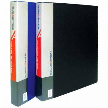 HnO 30-Hole Clear Book File (20 Pocket) A4