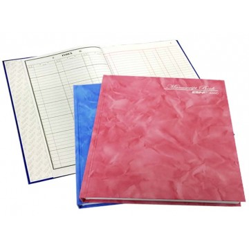 Hardcover 3 Columns Book 200 Pages (210 x 165mm)