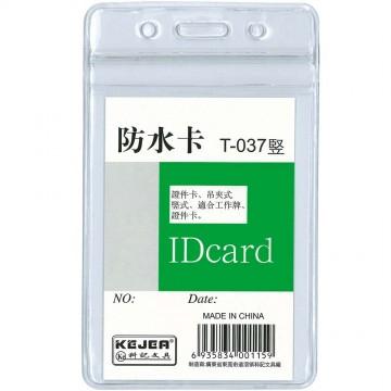 Kejea PVC ID Card Holder T-037V (62 x 91mm) Waterproof