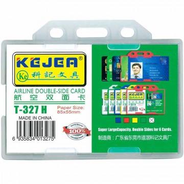 Kejea Staff Card Holder T-327H Double Rigid (85 x 55mm)