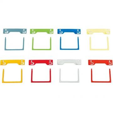 Colour Tubeclip Fastener 10'S