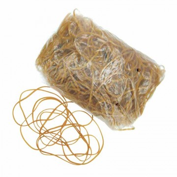 Rubber Bands (3 x 1 x 160mm) Natural