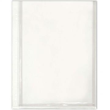 PVC 7-Hole U-Shape Folder A4 Clear